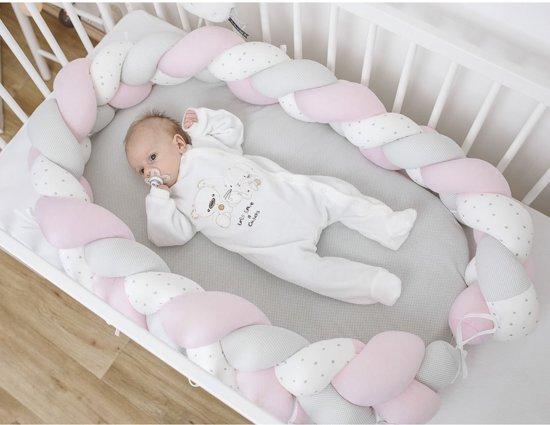 BUBABA Гнездо розово/бяло плитка